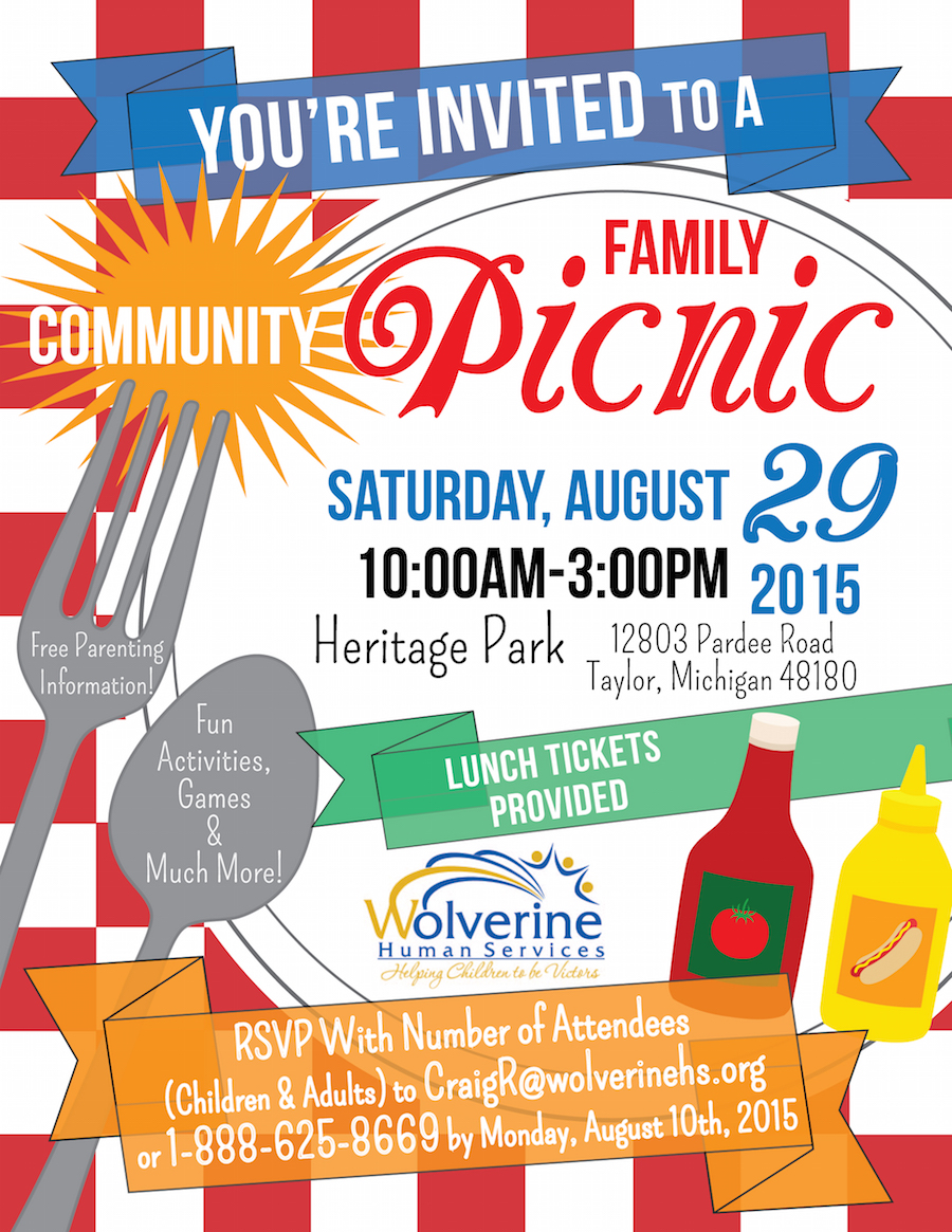 Picnic Flyer Templates In Microsoft Word Pictures to Pin ...