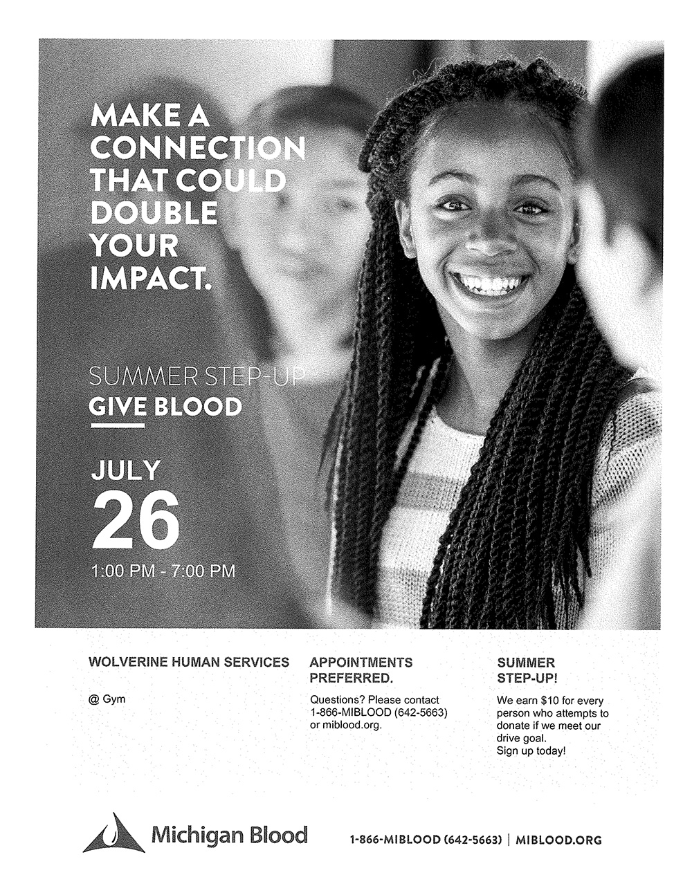 Wolverine Human Services Blood Drive