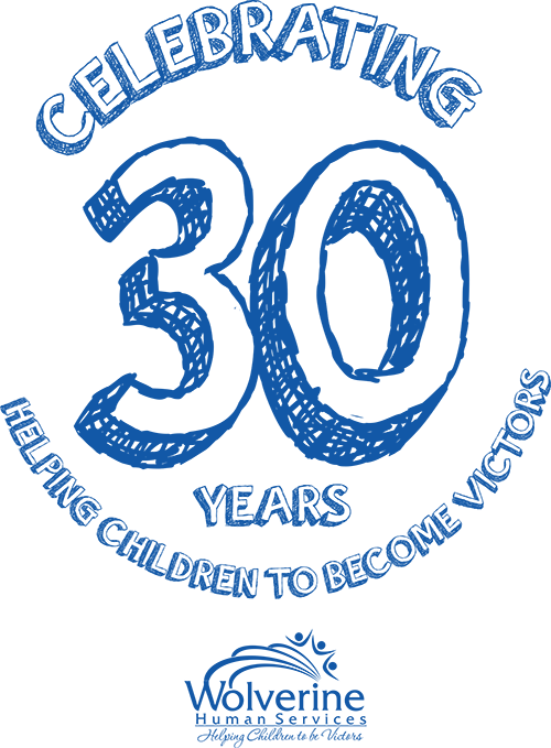 Whs 30th Anniversary Logo Wolverine Human Services