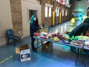 Monday Food Distribution