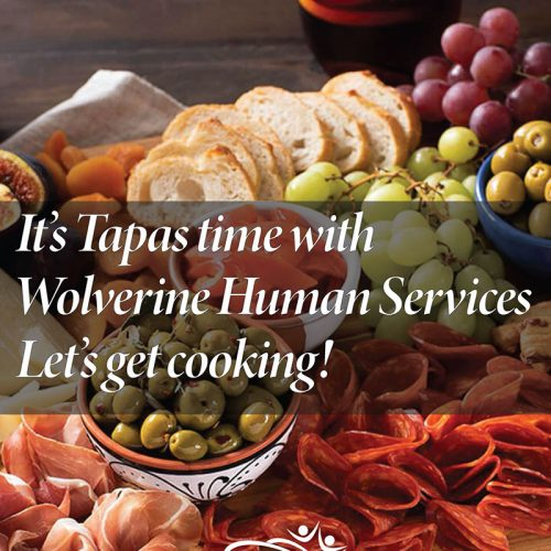 It's tapas time with Wolverine Hunan Services. Let's get cooking!
